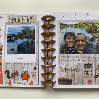 "The Happy Planner ""Octobre"""