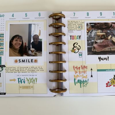 "The Happy Planner ""Novembre"""