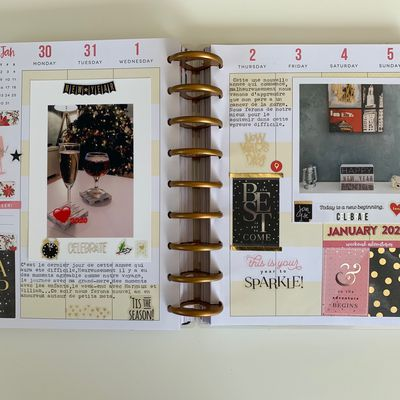 "The Happy Planner""Janvier"""