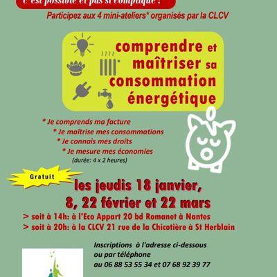 Ateliers énergie - 1er semestre 2018