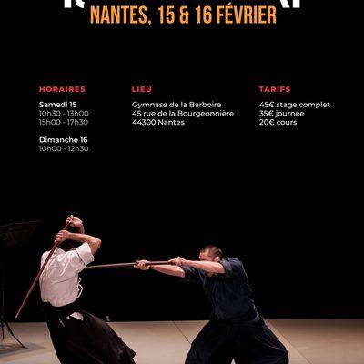 Issei Tamaki à Nantes, 15 et 16 février
