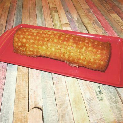 Mon cake lardons coulommiers