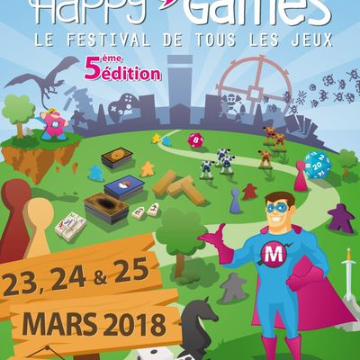 Happy'Games 2018, on y sera ! Mais en attendant ...