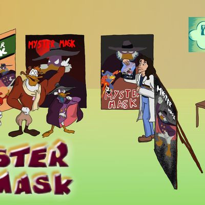 Review n°65 - Myster Mask