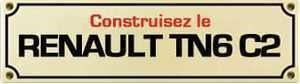 """Kiosques.doc - """"Renault TN6 C2 """" - Série collection presse"""