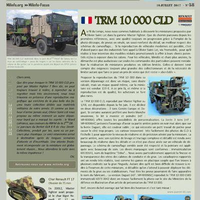 Milinfo-Focus n° 58 : le TRM 10 000 CLD, le Ward LaFrance et le Berliet GLR 8 R