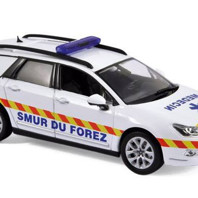 Citroën C5 break 2011 SMUR au 1/43 (Norev)