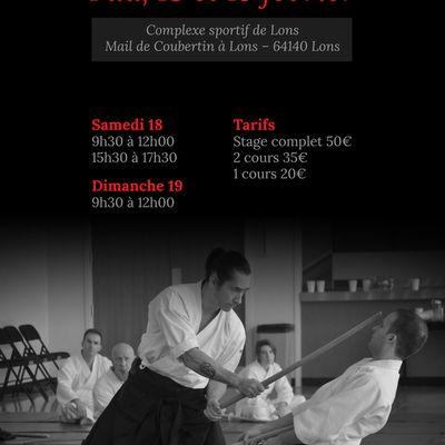 Léo Tamaki à Pau, 18 et 19 février