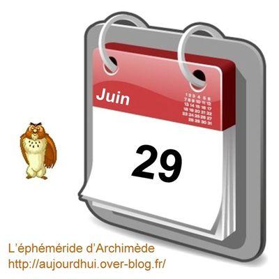 Personnalités nées un 29 juin