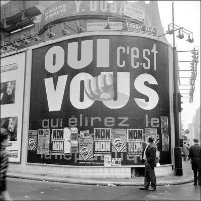 28 octobre 1962 - Référendum sur l'élection présidentielle