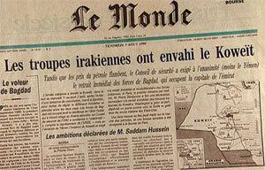 17 janvier 1991 - Opération Tempête du désert