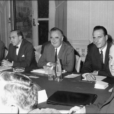 27 mai 1968 - Signature des accords de Grenelle