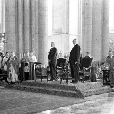 8 juillet 1962 - Adenauer et de Gaulle à Reims