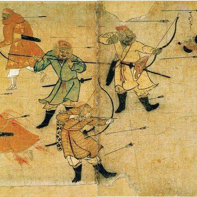 13 août 1281 - Les Japonais repoussent une invasion mongole