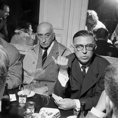 La résistible ascension de Benoît H Mauriac, dans l'un de ses derniers blocs-notes du Figaro Littéraire, le 28 mai 1970, juste avant sa mort, ironisait méchamment « Il suffit que Sartre assume la direction d'un journal qui veut tout mettre à feu et à sang pour que ce journal devienne anodin… Sartre est incurablement inoffensif » (96)