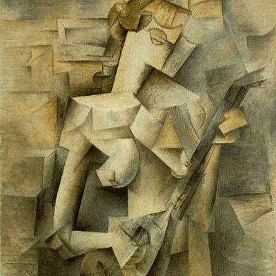 Picasso - Jeune fille à la mandoline