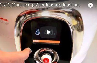 Cookeo Moulinex prise en main