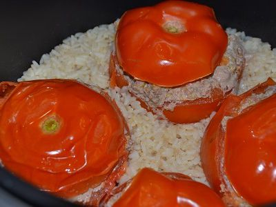 Tomates farcies jambon boeuf cookeo weight watchers