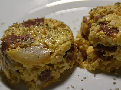 Oeufs brouillés au jambon  cookeo