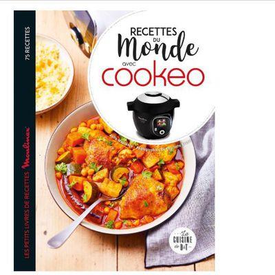 Nouveau livre : « Recettes du monde au cookeo »