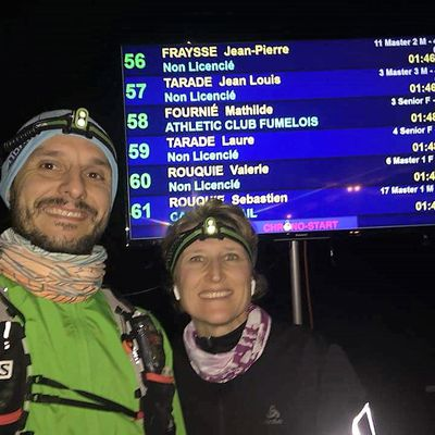 Trail nocturne du Montal