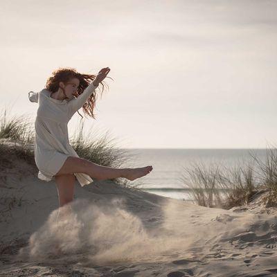 Danser avec le sable