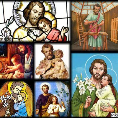 Vie & coloriages de st Joseph