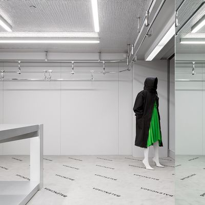 BALENCIAGA NEW FLAGSHIP STORE IN MADISON AVENUE / NEW YORK