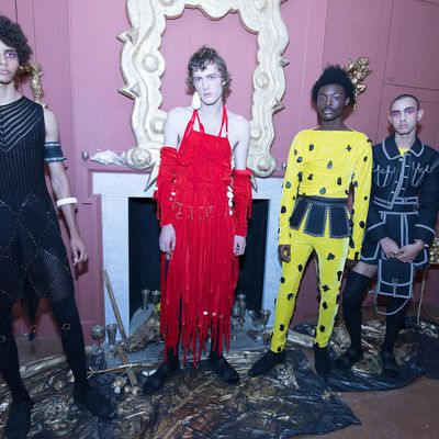 HARRY EVANS / FASHION EAST SPRING_SUMMER 2018 COLLECTION AT LFW