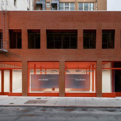 ACNE STUDIOS STORE IN GEARY STREET SAN FRANCISCO