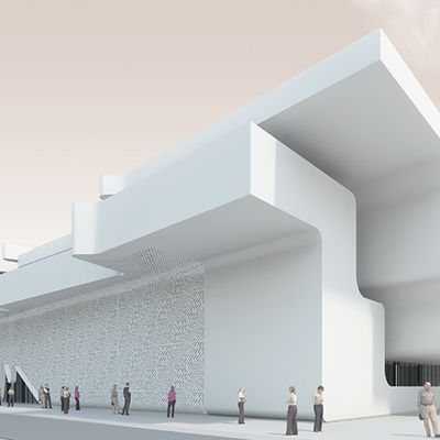 J.MAYER.H ARCHITECTS HAVE DESIGNED A RAILWAY STATION IN AKHALKALAKI, GEORGIA