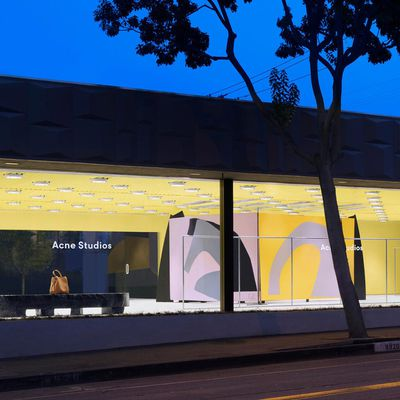 ACNE STUDIOS NEW STORE IN WEST HOLLYWOOD, 8920 MELROSE AV