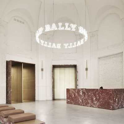 BALLY MILAN SHOWROOM BY STORAGEMILANO ARCHITECTURE, PHOTO ALBERTO STRADA