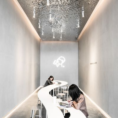AAN ARCHITECTS DESIGNED THE 'HEYTEA DAYDREAMER' SPACES IN SHENZHEN CHINA