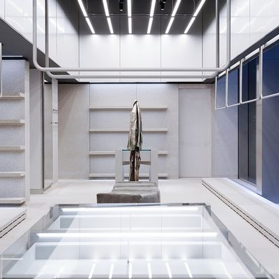 BALENCIAGA OPENS A BRAND NEW STORE IN MANHATTAN ON THE CORNER OF MADISON AVENUE AND 59TH STREET, NEW YORK