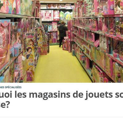 Dans les médias (29) : 20 Minutes : Pourquoi les magasins de jouets sont-ils en crise ?