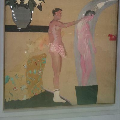 Hockney à Beaubourg