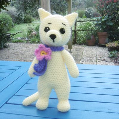 Chat, Amigurumi au crochet