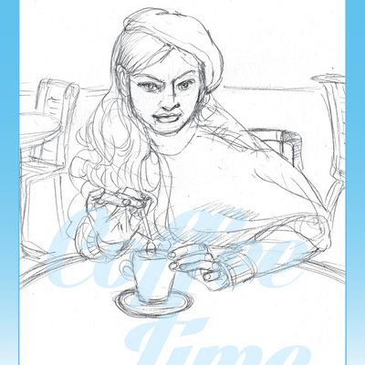 Coffee Time croquis 168