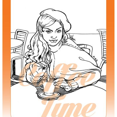 Encrage Coffee Time 168