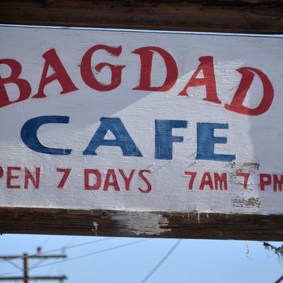 Bagdad cafe on the Road 66