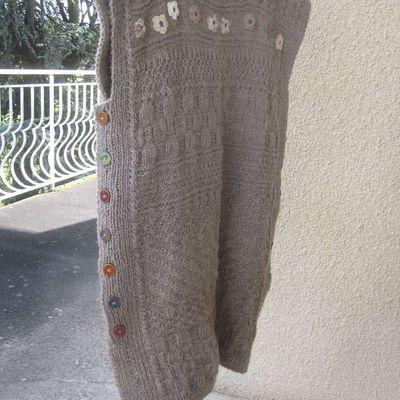 Ma robe en tricot