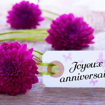JOYEUX ANNIVERSAIRE MARIE-CHRISTINE