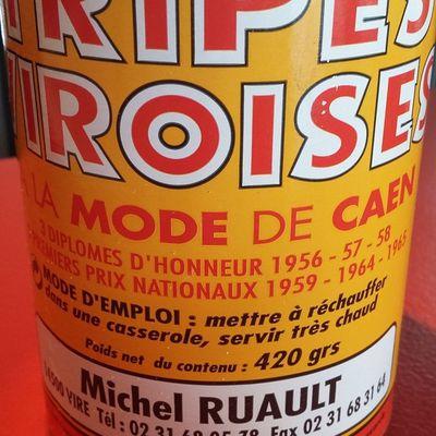 Normandie : les tripes viroises à la mode de Caen de Michel Ruault, ça vous dit quelque chose ?