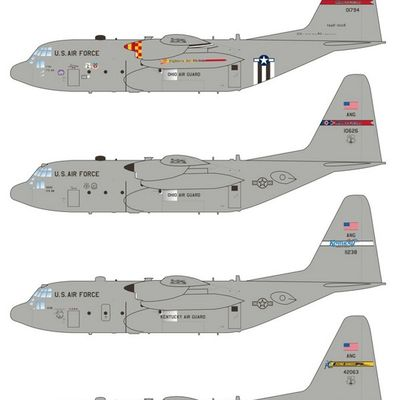 "Lockheed C-130 ""Hercules"" - 179th Airlift Wing - 60 years D-Day"