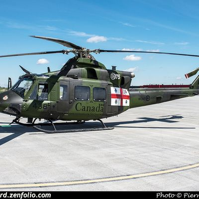 """Bell CH-146 Griffon - 1 Wing - 438 Tactical Helicopter Squadron """"Wildcats"""" - 375th anniversary """"City of Montreal"""""""