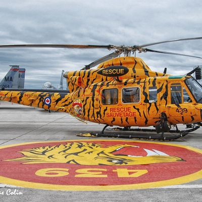 """Bell CH-146 Griffon - 3 Wing - 439 Combat Support Squadron """"Sabre-Toothed Tiger"""" - 75th anniversary"""