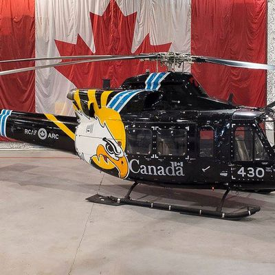 """Bell CH-146 Griffon - 430 Tactical Helicopter Squadron """"City of Sudbury"""" - 75th anniversary"""