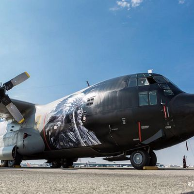 """Lockheed C130H """"Hercules"""" - 15th Wing """"Sioux"""" - 20th squadron - 70th anniversary & 45 years C-130 service"""