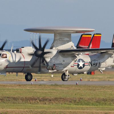 "Northrop Grumman E-2C ""Hawkeye"" - VAW-125 ""Tigertails"" - CAG bird 2018"